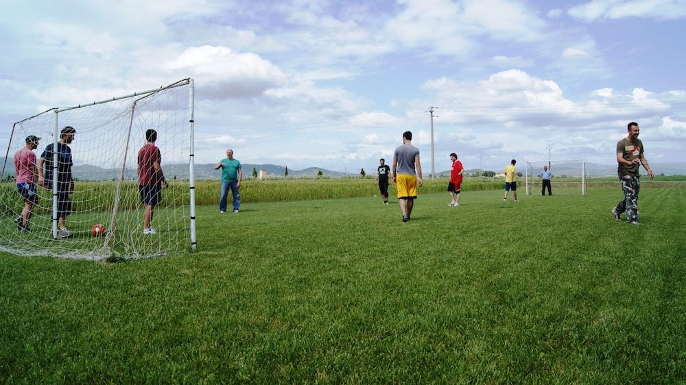 Area Attrezzata e campo da calcio