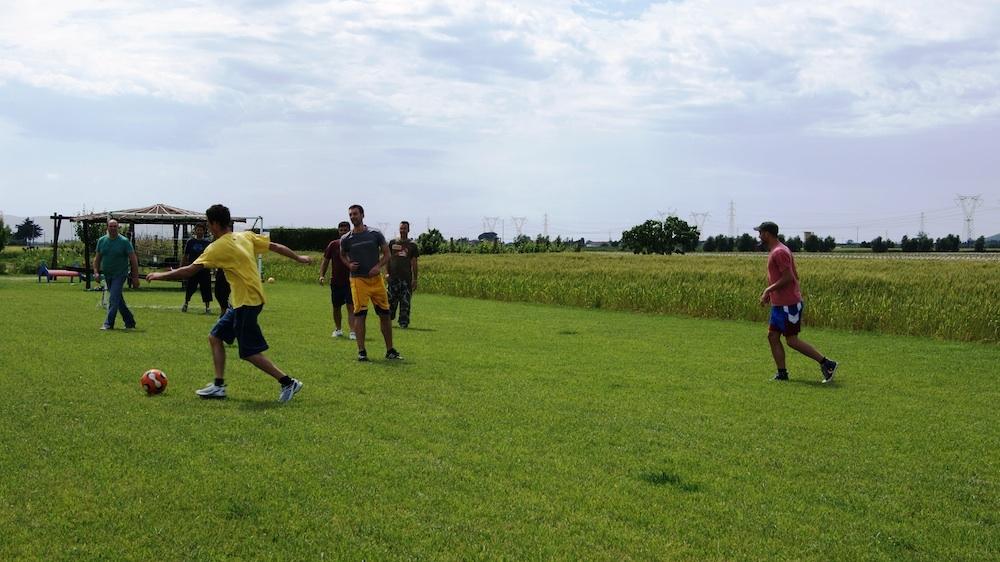 Campo da calcio Casa Vacanze Ribocchi